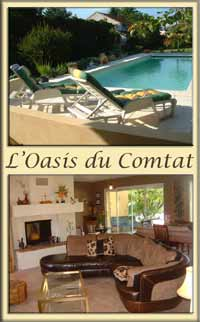 Luxury France villa with pool, Vaucluse Villa Rental