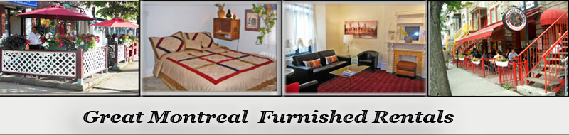 Montreal furnoshed rentals, vacation places to stay